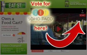 SoHo Taco Gourmet Taco Catering - Orange County - Los Angeles - Eat St & Food Network Contest