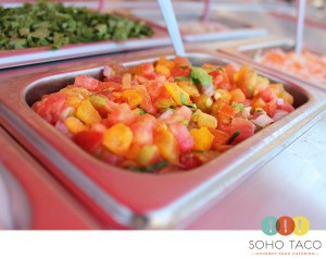 SoHo Taco Gourmet Taco Catering - Wedding Wire - Pico de Gallo Salsa