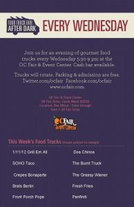 SoHo Taco Gourmet Taco Truck - Gourmet Food Trucks - OC Fair & Event Center - Costa Mesa - Orange County - CA - Flyer