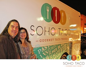 SoHo Taco Gourmet Taco Truck - OC Wine Mart - Irvine - Orange County CA - Bryan & Debbie