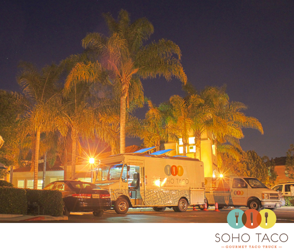 SoHo Taco Gourmet Taco Truck - Santa Rosa Apartments - Irvine - Orange County CA