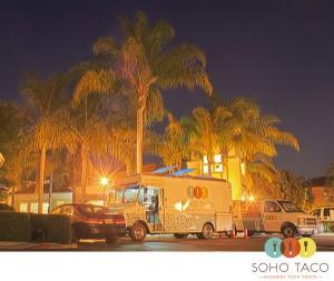 SoHo Taco Gourmet Food Truck - Santa Rosa Apartments - Irvine - Orange County - CA - February - 2012