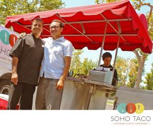 SoHo Taco Gourmet Taco Cart Catering & Food Truck - Chef Gabe Zambrano - Gustavo Arellano - Birthday Boys