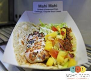 SoHo Taco Gourmet Taco Catering & Food Truck - Orange County - Los Angeles - Mahi Mahi Taco