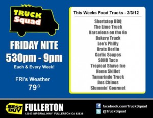 SoHo Taco Gourmet Taco Truck - Best Buy - Fullerton - Orange County - CA-flyer