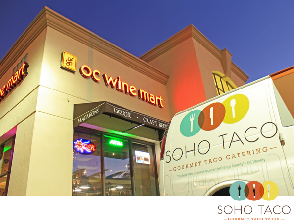 SoHo Taco Gourmet Taco Truck - Food Truck - OC Wine Mart - Irvine - Orange County - March 10 2012