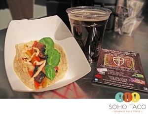 SoHo Taco Gourmet Taco Truck - Noble Ale Works Brewery - Anaheim - Orange County - Angels Opening Game Celebration