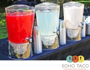 SoHo Taco Gourmet Taco Truck - OC Fair & Events Center - Costa Mesa CA - Aguas Fresca