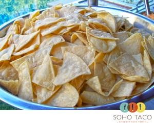 SoHo Taco Gourmet Taco Truck - OC Fair & Events Center - Costa Mesa CA - Tortilla Chips