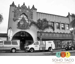 SoHo Taco Gourmet Taco Truck - Proof Bar - Santa Ana - Orange County - CA - 6th Anniversary Party