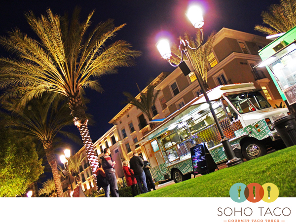 SoHo Taco Gourmet Taco Truck - The Park - Irvine - Orange County - February 24 2012