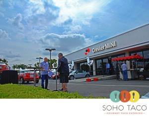 SoHo Taco Gourmet Taco Cart Catering - Crevier BMW - Santa Ana - Mini Cooper 10 Year Anniversary - Orange County - logo