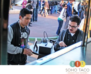 SoHo Taco Gourmet Taco Cart Catering - Gourmet Food Truck - Taco Truck - OC Fair Event Center - Costa Mesa - Order Taking