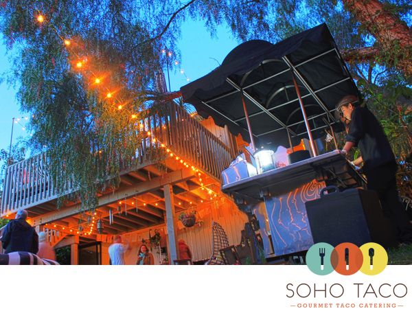 SoHo Taco Gourmet Taco Catering - Capistrano Beach - Orange County CA - March 2012 - Logo