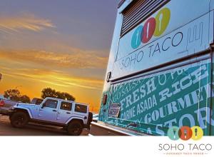 SoHo Taco Gourmet Taco Truck - Noble Ale Works - JK Jeep Owners - Anaheim - Orange County - CA - Logo