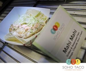 SoHo Taco Gourmet Taco Truck - The Park - Irvine - Orange County CA - March 2012 - Mahi Mahi