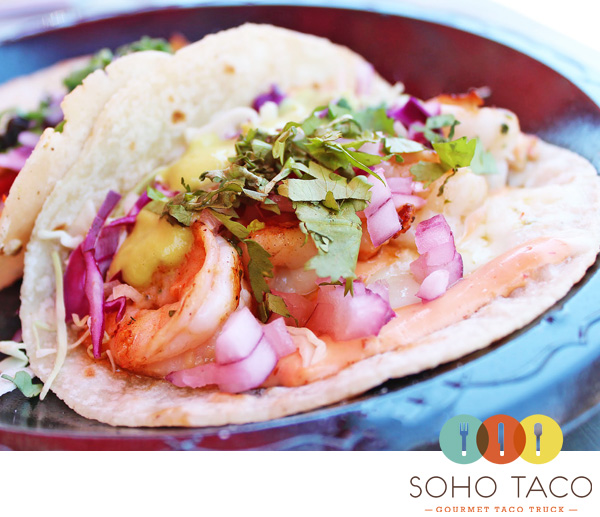 SoHo Taco Gourmet Taco Truck - The Park - Irvine Spectrum - Irvine - Orange County - CA - Logo