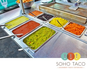 SoHo Taco Gourmet Taco Catering - Orange County - Los Angeles - Pinterest - Logo
