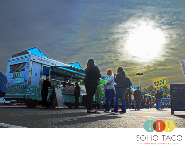SoHo Taco Gourmet Taco Truck - Best Buy - Fullerton - Orange County - April 27 - Logo