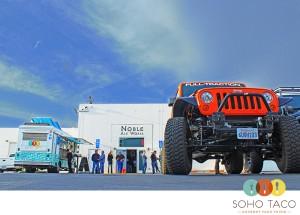 SoHo Taco Gourmet Taco Truck - Noble Ale Works - Anaheim - Orange County CA - JK Jeep Club Night
