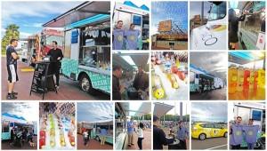 SoHo Taco Gourmet Taco Truck - OC Fair & Events Center - Costa Mesa CA - Huberts Lemonade - April 2012