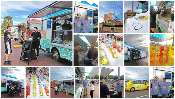 SoHo Taco Gourmet Taco Truck - OC Fair & Events Center - Costa Mesa CA - Huberts Lemonade - April 2012