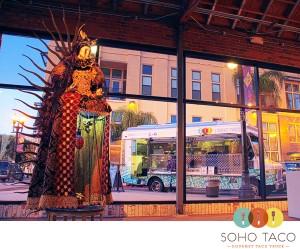 SoHo Taco Gourmet Taco Truck - OCCCA - Orange County Center Contemporary Art - Santa Ana - Art Walk - CA - logo