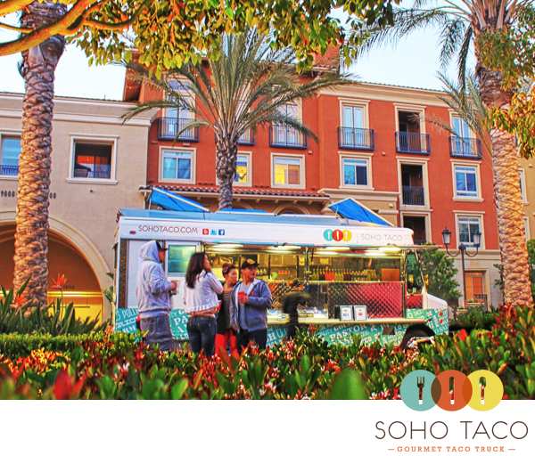 SoHo Taco Gourmet Taco Truck - The Park - Irvine Spectrum - Irvine - Orange County CA - Logo