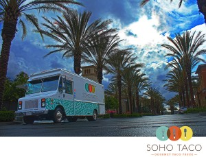 SoHo Taco Gourmet Taco Truck - The Park Irvine Spectrum - Irvine - Orange County CA - logo