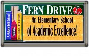 Fern Drive Elementary Billboard