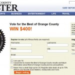 SoHo Taco Gourmet Taco Catering & Food Truck - OC Register - Best of Orange County Poll