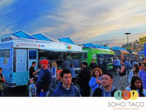 SoHo Taco Gourmet Taco Truck - Best Buy - Fullerton - Orange County - CA - May 11 2012