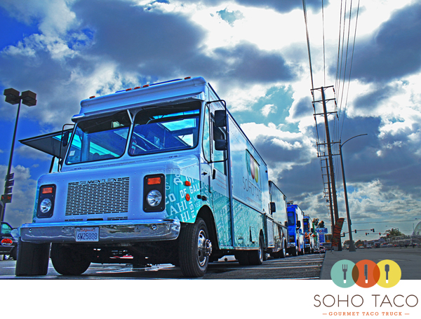 SoHo Taco Gourmet Taco Truck - Jaguar Land Rover Anaheim Hills - Orange County - CA - Service Clinic Lunch