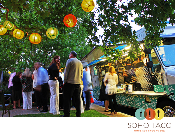 SoHo Taco Gourmet Taco Truck - Newport Beach - Orange County - CA - Private Catering Event