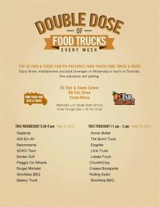 SoHo Taco Gourmet Taco Truck - OC Fair & Events Center - Costa Mesa - Orange County - Official Flyer - May 9 2012