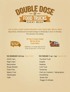 SoHo Taco Gourmet Taco Truck - OC Fair & Events Center - Costa Mesa - Orange County - flyer