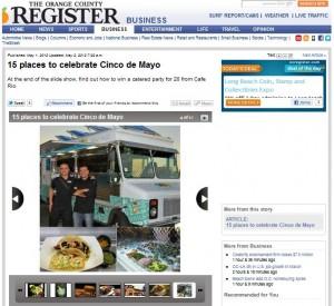 SoHo Taco Gourmet Taco Truck - OC Register - Santa Ana - Orange County - CA - Cinco de Mayo