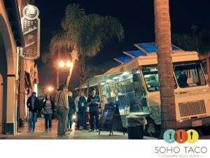 SoHo Taco Gourmet Taco Truck - Proof Bar - Santa Ana - Orange County - CA