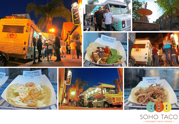 SoHo Taco Gourmet Taco Truck - Proof Bar - Santa Ana - Orange County - Cinco de Mayo