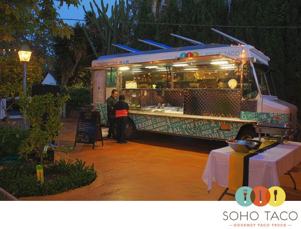 SoHo Taco Gourmet Taco Truck - Tea House on Los Rios - San Juan Capistrano - Orange County CA - Memorial Weekend Birthday Party
