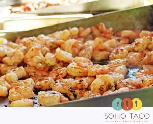 SoHo Taco Gourmet Taco Cart Catering & Food Truck - Santa Ana - Orange County - CA - Grilled Shrimp
