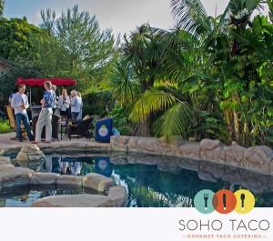 SoHo Taco Gourmet Taco Cart Catering - Newport Beach - Orange County - CA - Poolside - logo