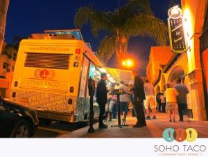 SoHo Taco Gourmet Taco Truck - Proof Bar - Santa Ana - Orange County - CA - Santa Ana Art Walk