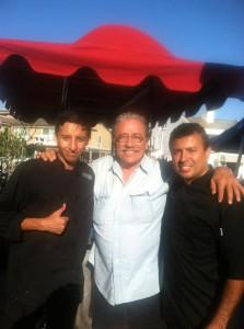 Soho Taco Gourmet Taco Catering - Sunset Beach - Orange County - Actor Edward James Olmos