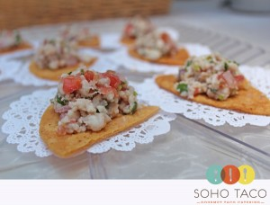 Soho Taco Gourmet Taco Catering - Sunset Beach - Orange County - CA - Ceviche Appetizers