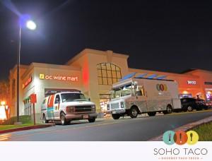 SoHo Taco Gourmet Food Truck - OC Wine Mart - Irvine - Orange County - CA