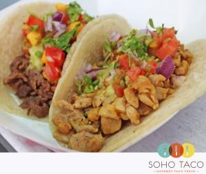 SoHo Taco Gourmet Taco Truck - Rogers Gardens Promo - Corona Del Mar - Newport Beach - Orange County - CA