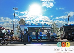 SoHo Taco Gourmet Taco Truck - Mustang Food Truck Roundup - Yorba Linda High School - Yorba Linda CA