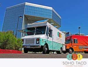 SoHo Taco Gourmet Taco Truck - Park Place - Irvine - Orange County - Lunch