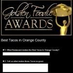 Soho Taco Gourmet Taco Catering & Food Truck - Golden Foodie Awards - Best Tacos in Orange County - Survey